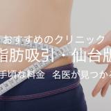 おすすめのクリニック【脂肪吸引・仙台版】手頃な料金 名医が見つかる